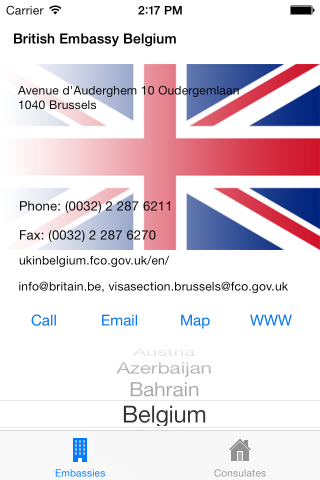 UK Embassies & Consulates